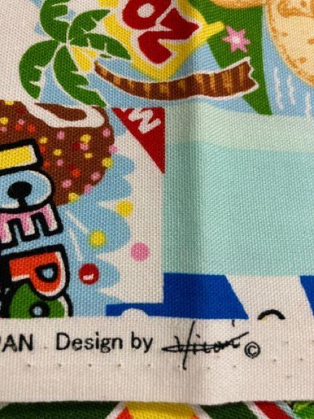 ハンドクラフトTOKAIで購入した生地です。 このデザイナーさんのお名前が分かる方いらっしゃいますか? よろしくお願い致します!