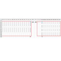 VBA ある列の最終行を取得し罫線を引きたい。 V列とAA列の最終行を基準として、画像のように罫線を引きたい。 ※VとAAの最終行は必ず同行です。 ※A~Gまでは非表示です。  VBA素人のため「VBA 最終行 罫線」等で調べましたが、下記コードから進めません。 何卒ご指導をお願いします。  Sub TEST999() Dim r As Long r = ActiveSheet.UsedRa...
