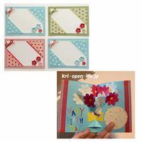 高齢者施設で 母の日のメッセージカード手作りするのですが  どっちがいいでしょう??  お年寄りがもらって嬉しいのは、どっちと思いますか?