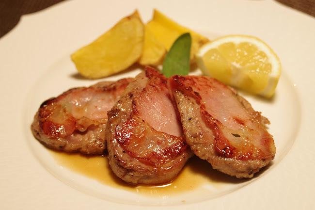 お正月にはサルティンボッカを食べますか??