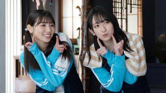 この河田陽菜と金村美玖がシュウペイポーズしてるのって何のやつですか?
