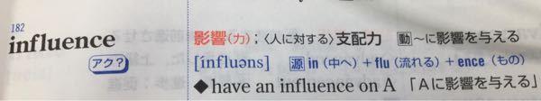 わざわざ名詞とhaveを使わなくても、動詞の方で、〜に影響を与えるとできるのでは無いのですか?