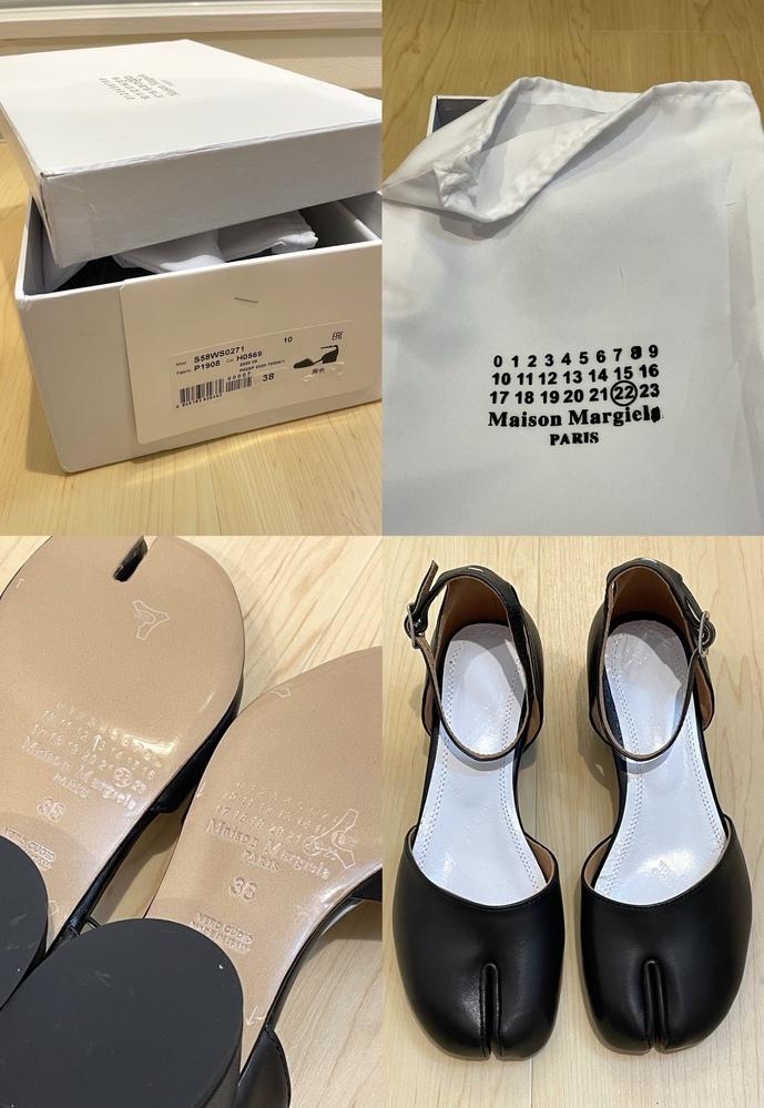マルジェラの足袋 タビシューズにお詳しい方、教えてください。 フリマアプリ ラクマで欲しかった足袋パンプスを購入したところ偽物らしきものが届きました。 届くまでにあまりに音沙汰が無かったり、 ...