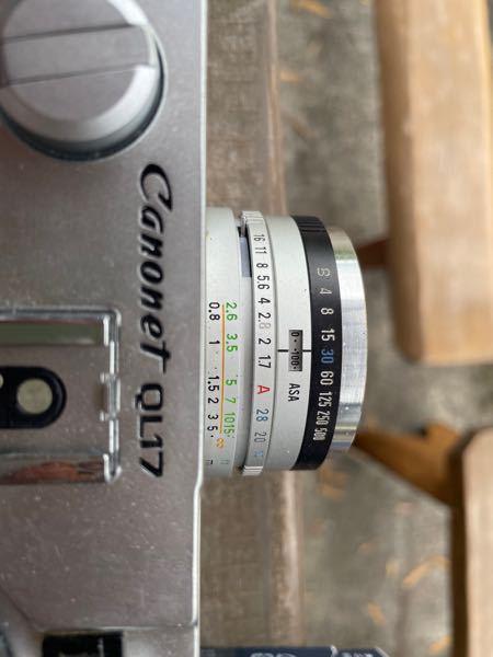 このフィルムカメラの明るさの調整の仕方がよくわかりません 数値について教えてください!!