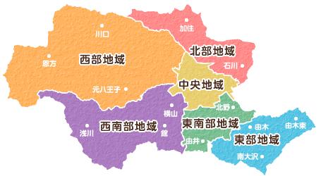 東京都八王子市は政令指定都市に移行できる規模ですか? 他市町村と合併してでも人口を稼いだ上での移行ですか? 区分けはこんな感じ(↓)ですか?