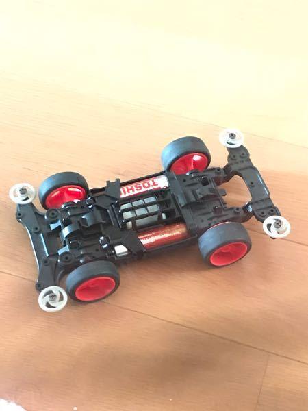このミニ四駆の機体車種目わかる方おられますか? 当時買った状態なのでノーマルだと思います。