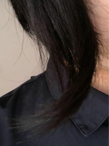 女子高生です。髪の毛のハネ直しについて教えてください! 私は、写真の通りとんでもなく髪の毛の前が曲がっています。ロングでもショートでも耳元の部分で曲がります。ヘアワックスやヘアアイロンを試しても全く真っ直ぐになりません。 もし、いい直し方や美容系の動画など知っていたら教えてください。