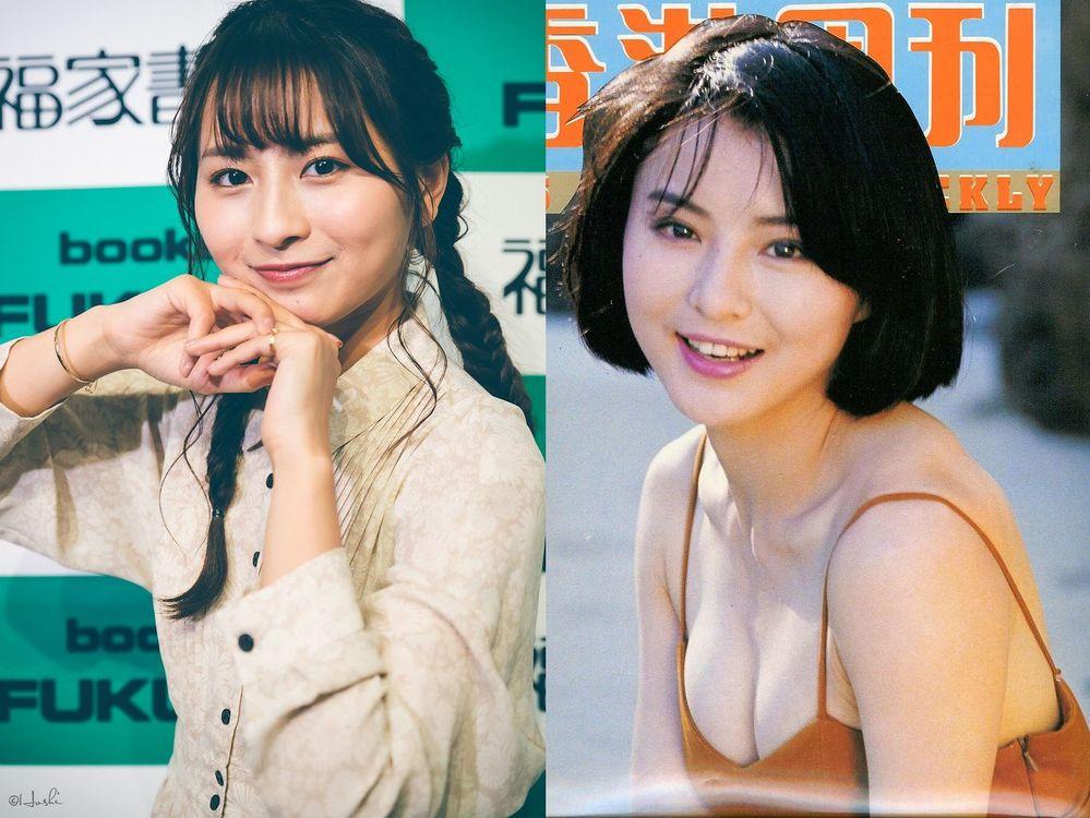 今、人気のロン・モンロウ(龍夢柔)と 若い頃のムーン・リー(李 賽鳳)とだったら どちらの女性の方がより綺麗だと思いますか? 写真左がロン・モンロウ 写真右がムーン・リーです。
