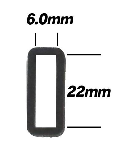 G-SHOCKのベルトループ(遊環)が切れてしまいました。 交換しようと思いますが、ベルトの幅が22mmでした。 ベルトループ(遊環)も同じサイズで問題ないのでしょうか? ネットで検索しても、サイズの選び方がわかりませんでした。 機種は3151シリーズのGLX-5500Aとなります。 参考に22mmで検索すると出てくる遊環のサイズが画像のサイズで。 こちらを購入して問題ないのでしょうか?
