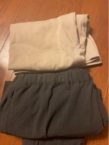アウトレットのナノユニバースで購入したTシャツとジョガーパンツなんですが、どう合わせれば良いでしょうか。