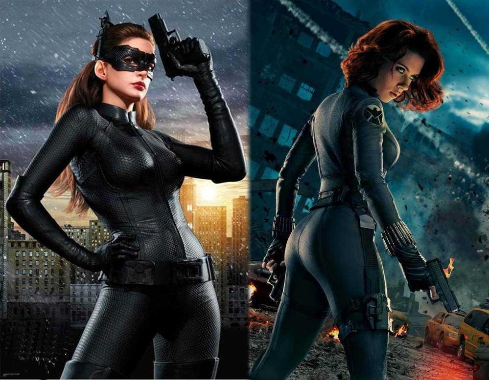 キャット・ウーマン(アン・ハサウェイ)とブラック・ウィドウ(スカーレット・ヨハンソン)だったら、どちらを相棒にしたいですか?