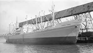 この船(Capeten Yiannis 1956年建造)の冷却水ポンプ(エンジン)は遠心式(電動)です なぜでしょう❓