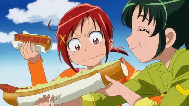 「スマイルプリキュア!」 第30話 ふしぎ図書館から世界中にワープして各国の名物料理を食べてましたが、支払いは? カード? 何故時差がないの?(笑)