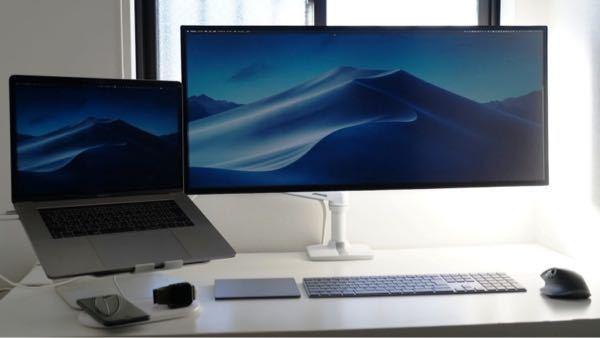 MacBook Pro 16インチに外付けモニターつけてキーボードも買って下の画像のような外付け状態にしたいのですが、外付けや別売りのキーボードをメインにしたときに、何がログインや承認をするとき...