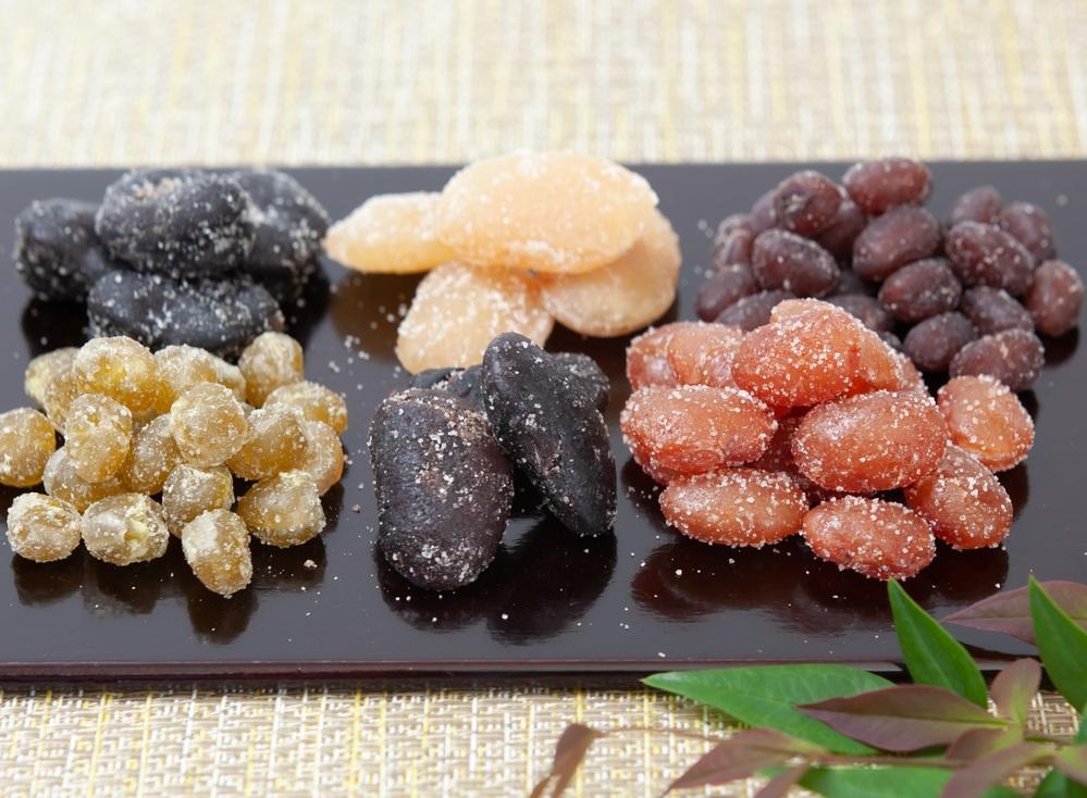 お正月には甘納豆を食べますか??