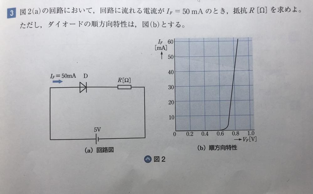 この問題を教えてください。答えは83.4Ωです。