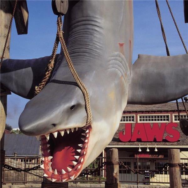 ユニバにあるこのサメってジョーズですか? ジョーズの1作品目は違ったサメを釣りあげた気がするのですが、詳しい方教えてください。