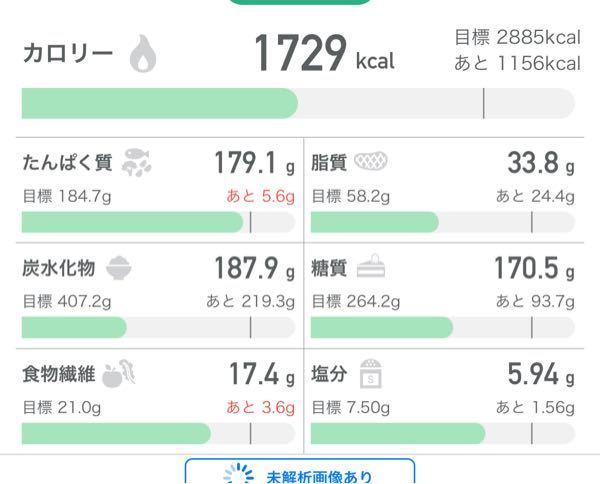 お願いします。 初めての減量をします。 現在の身長体重 167cm62キロ。 やり方はローファットです。 PFCのバランスは大丈夫ですか? 週に5日筋トレしています。