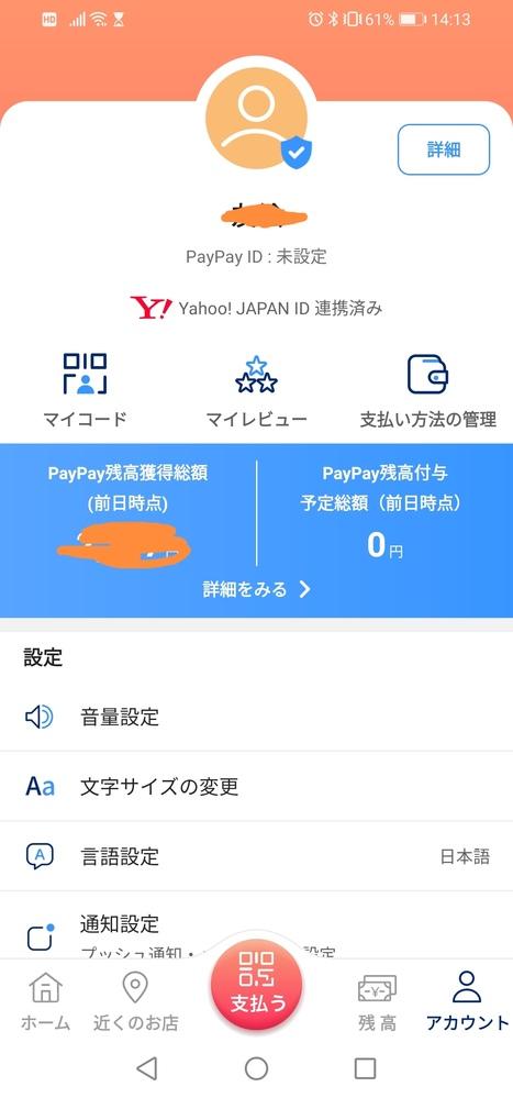 これは青バッチですか? PayPayアプリの画面です。 青いレ点が着いているところはアイコンの右下です。 調べると名前の後に青バッチが付くらしいので、これは青バッチではないということでしょうか?
