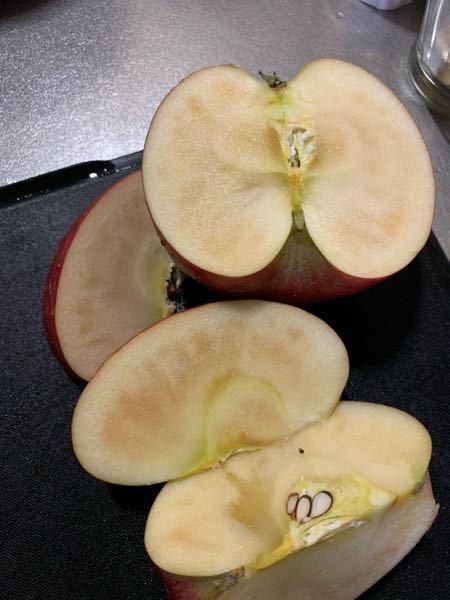 ちょっと、急いでます。 添付した、リンゴなんですが… 食べれますか?