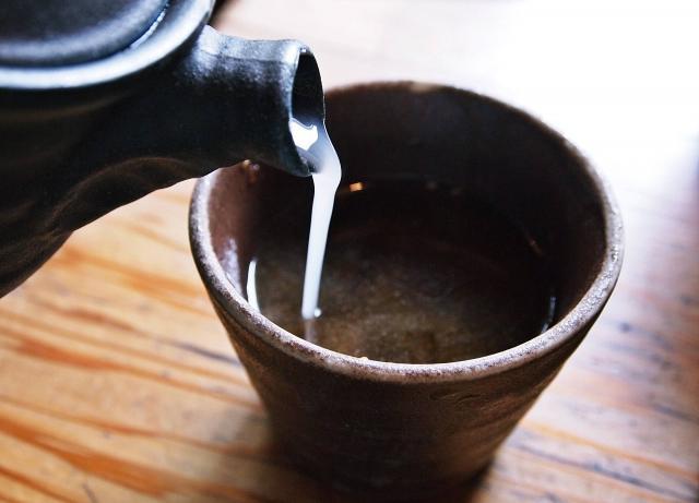 シニアの人は蕎麦湯を必ず飲みますか??