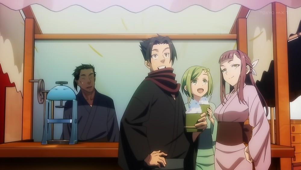 「転スラ日記」アニメ5話の画像の3人組はどちら様ですか? 本編の方にも登場していましたか?お名前わかりますか?詳しい方回答お願いします。