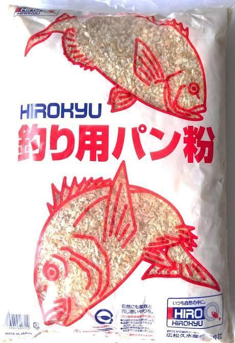 釣り用のパン粉は食べられますか?