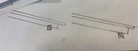 屋根の軒桁部分の断面図の書き方について質問です。 画像の書き方で合ってるのは左ですよね?