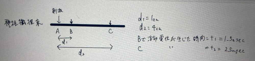 d1/t1とd2/t2の値が異なり、興奮電動速度に当てはまらないのは何故かその理由を教えてください。 困ってます…