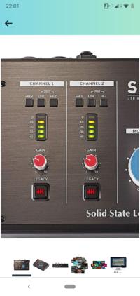 オーディオインターフェイスのSSL2というものに4Kというボタンがついていますが これはどういったときに使用するものなのですか?