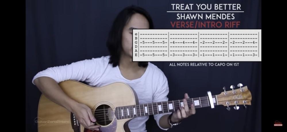 ギターのこの見方がわかりません