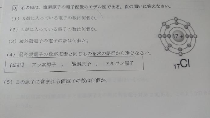 化学基礎 教えてください!