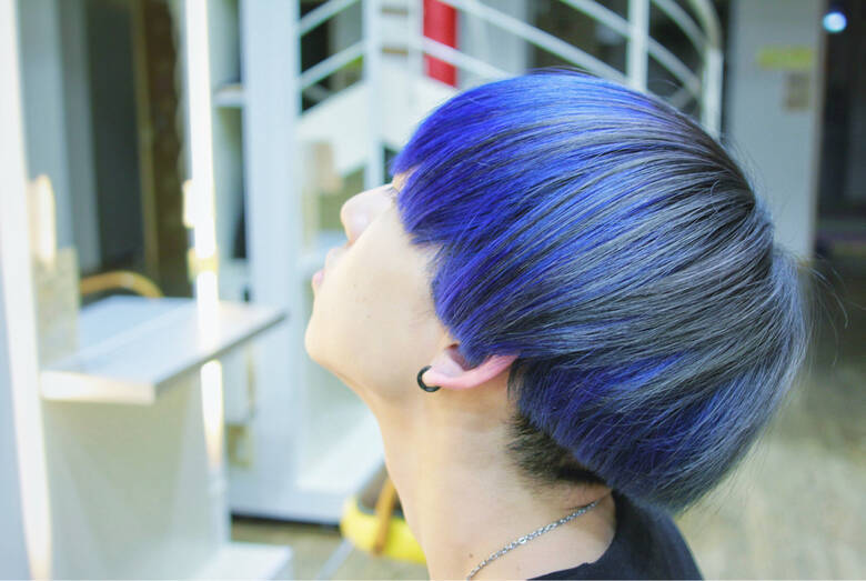 この髪色にしたいのですが、市販でこんなに綺麗に出来ますか?