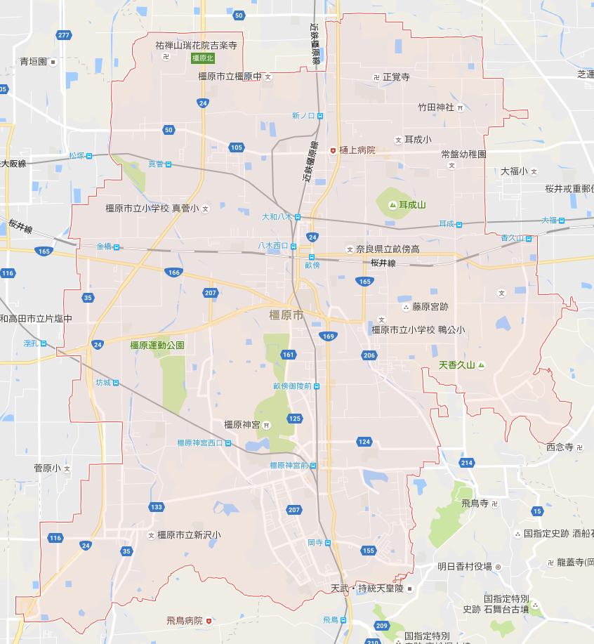 奈良県橿原市はどのような街ですか?