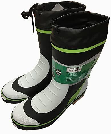 添付画像のこの長靴を購入しました。履いた時の紐の処理の仕方を教えてください。回答よろしくお願いします。