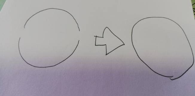 jwwCADについて教えて下さい。 切れてる円があるんですが、 伸ばして丸い円になりますでしょうか? 画像のように パラメとか使えるのでしょうか? 上手くいきません。 伸縮とかではできます。 伸縮が一番良いのでしょうか?