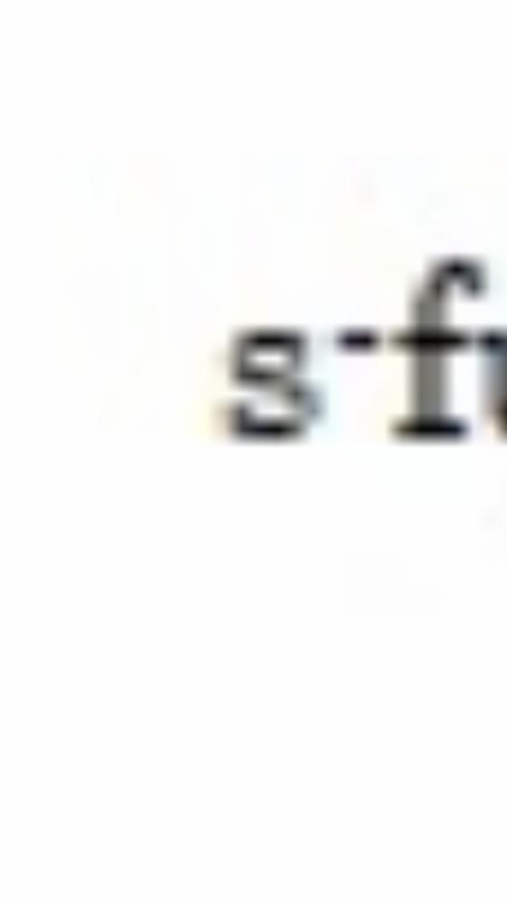 スマホやキーボードで このsとfの間の点はどうやって 打ちますか?
