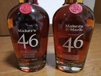 ケンタッキー バーボン ウイスキーのメーカーズマーク46を別々の酒店で購入したところ、ラベル(ボトル)のデザインが違いました。 製造日やロット等の違いなのでしょうか? どちらが新しいのか等、ご存知の方がいましたら、お教えください。