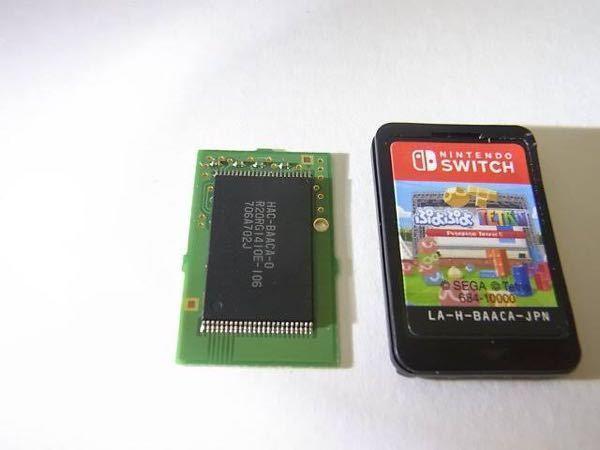 swichのソフトの基盤部分の部分がひび割れたら使えなくなりますか 画像の左側の黒い部分です