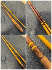 こちらの釣り竿のメーカーと商品名をわかる方、教えてください。 4本並継です。征興でしょうか?このヘラ竿にメーカーも商品名、長さ等も記載有りませんでした。