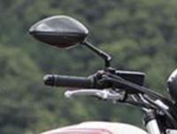 バイクのミラーについてなのですが。 写真に写っているミラーが何処のメーカー品なのか教えていただけないでしょうか。