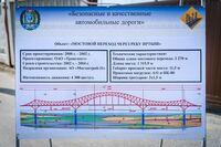 ロシア後で書いてあるここの2270mの説明部分について教えてください。翻訳サイトに入れると橋梁交差点と出てくるのですがなんでしょう。ちなみにこの橋は クラースニ・ドラコン https://goo.gl/maps/Mev7VAPtKL7ChLur6 です。