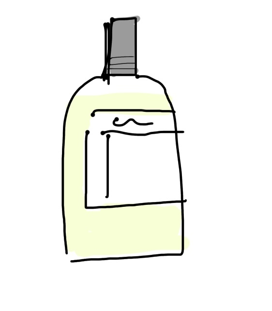 香水を探してます。 いつどこで見たのかは覚えてないんですが スパイシー系?の匂いで、外が割かし透明の瓶で香水の色は黄色から薄黄色くらい?です。一応、覚えてる限りで絵も描いてみました。。。どこのサ...