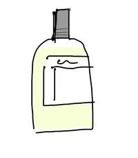 香水を探してます。 いつどこで見たのかは覚えてないんですが スパイシー系?の匂いで、外が割かし透明の瓶で香水の色は黄色から薄黄色くらい?です。一応、覚えてる限りで絵も描いてみました。。。どこのサイト見てもそれっぽいものは出てこなくて、、、見たことある方回答お願いしますm(_ _)m