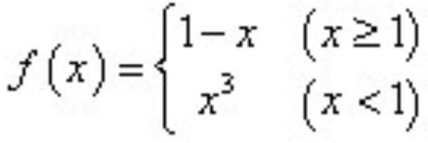 この数学の問題を教えてください。 お願いします。 画像の関数の導関数を、ヘビサイド関数とデルタ関数を使って求めよ。