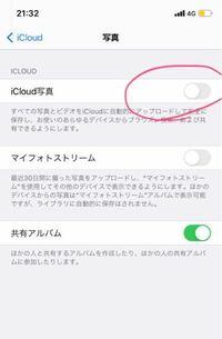 iCloud写真をオンからオフにしたのですが写真は消えたりするのでしょうか? iCloudの容量が足りなくてオフにしたのですが、、、