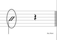 ギターTAB譜  この記号はなんですか? どのように弾くんですか?  左のやつです