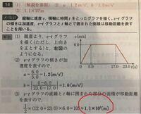 高校1年 物理基礎の問題です。 なぜここは1.1×10²になるのですか? 105ではだめなのですか?