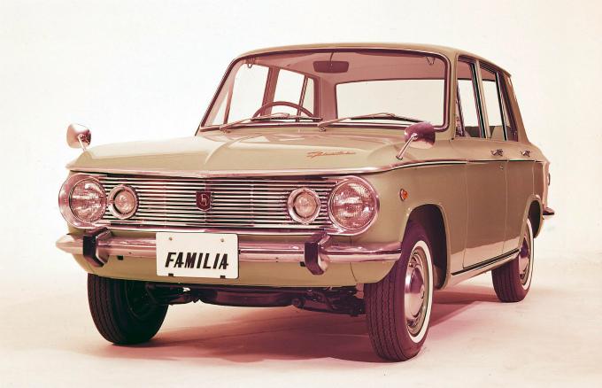 日本の乗用車の大先輩はトヨタカローラでも日産サニーでもなくて、マツダファミリアだったのですか?