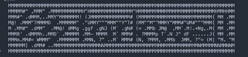 プログラミング等でよく見るもので、画像のような、文字で文字を作る方法とかってあるんでしょうか?